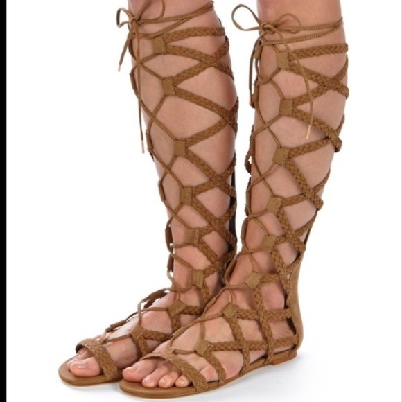 f3a827e866c Steve Madden Tall Gladiator Lace Up Sandals